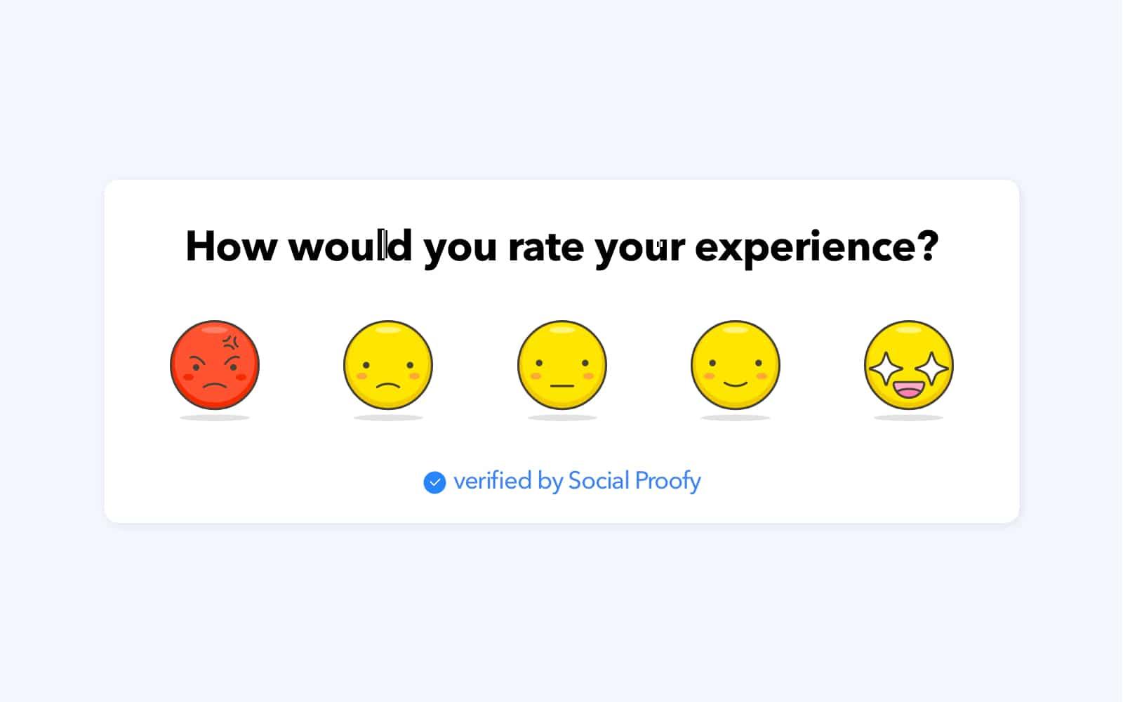 Emoji Feedbacks Widgets