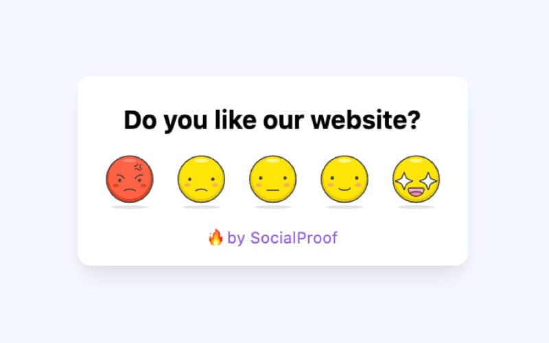 Emoji Feedbacks