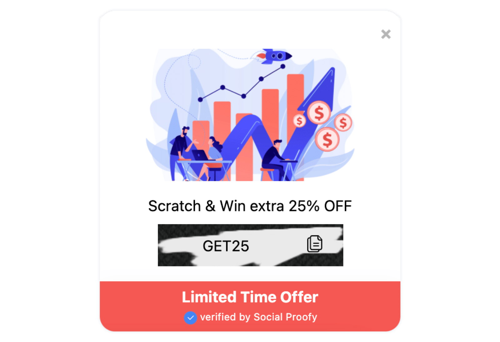 Scratch & Win Widget