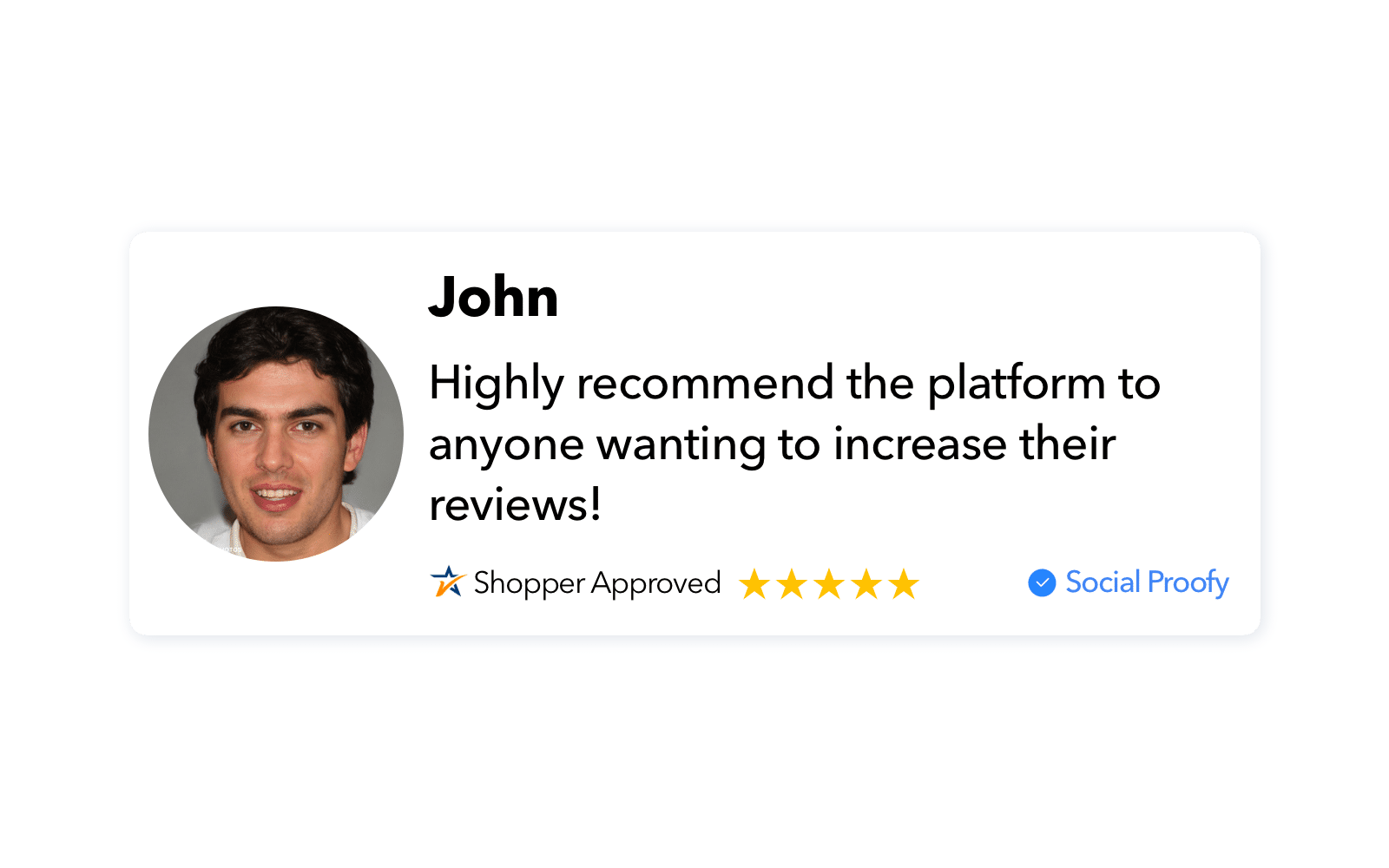 Shopper Approved Review Widget