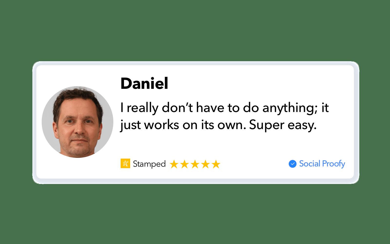 Stamped.io Review Widget
